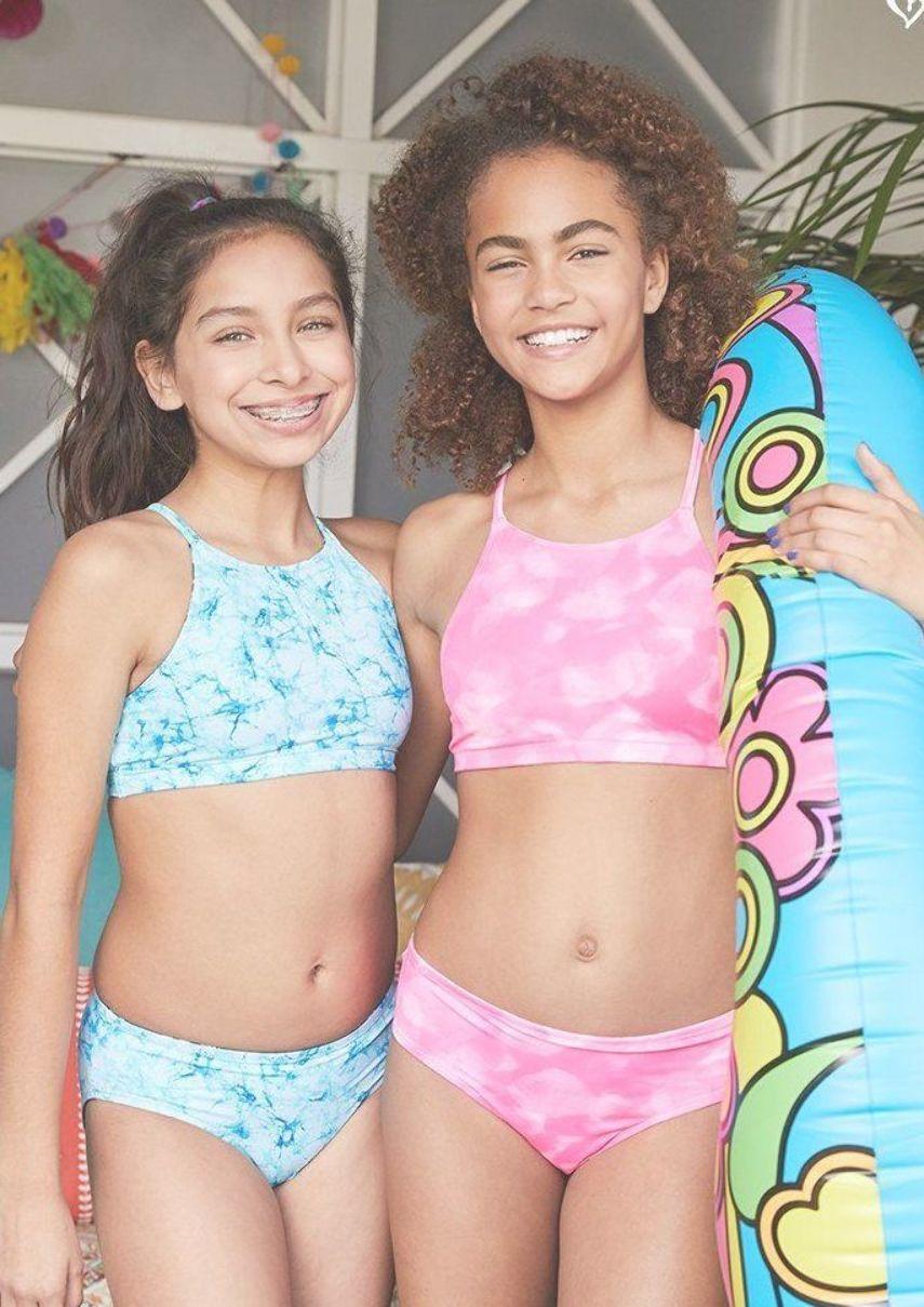 Spring Break Here She Comes Kids Bikini Swimwear Girls Bikinis
