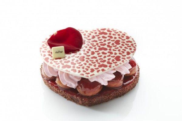 Saint Valentin 2014, les grands sucrés s'enflamment - Lenôtre  #Valentinesday #pastry #Paris #France #cakes #sugar #instagood #SaintValentin