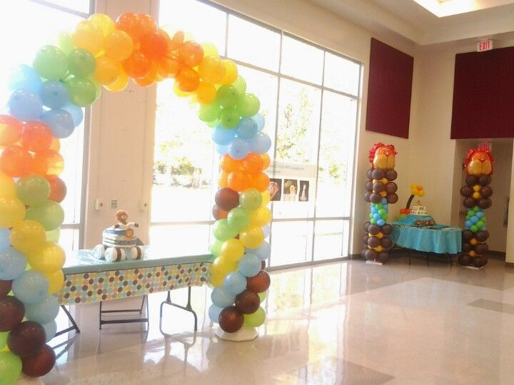 King Of The Jungle Baby Shower Balloon Decorations Baby