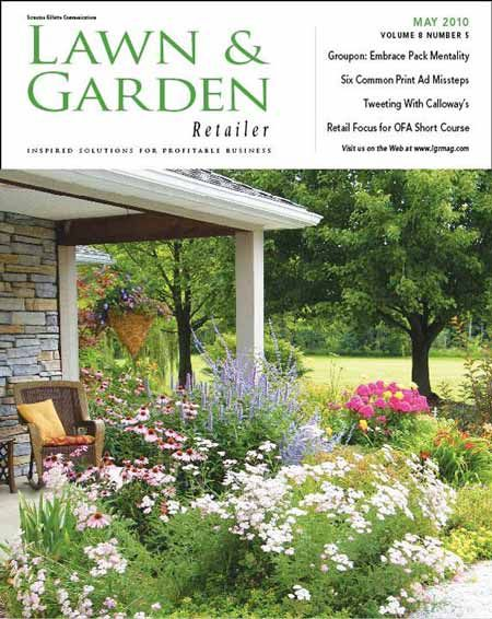 Zone 5 Perennials   Brendau0027s Porch Featured On Cover Of Lawn And Garden  Magazine