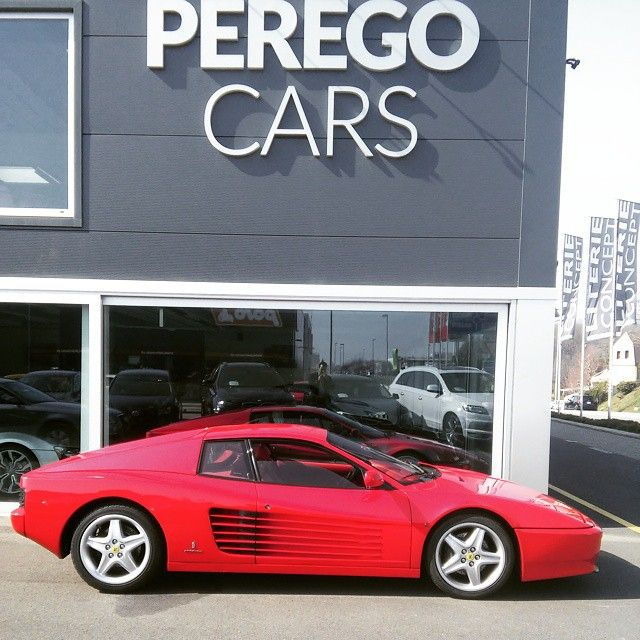 Ferrari 512TR @peregocars #ferrarifanatics #testarossa #peregocars #512 #sunnyday