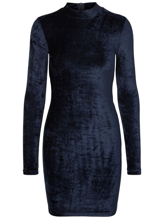 Ready to go out? Wear this pretty velvet dress from Noisy may.