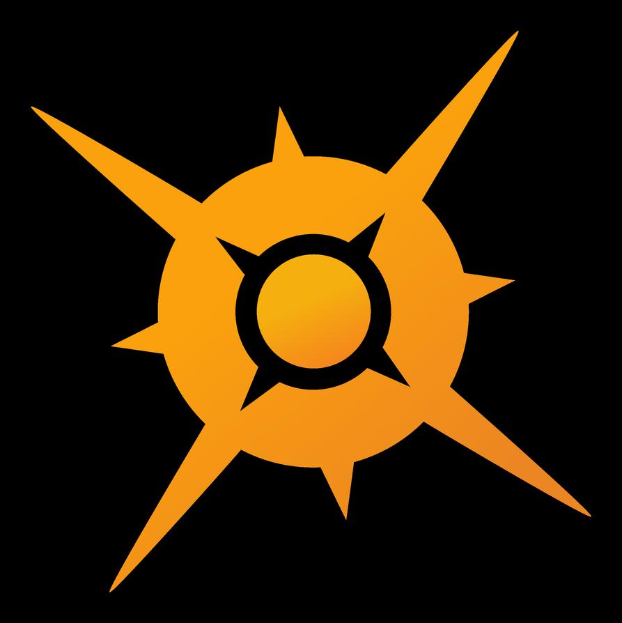 Pokemon Sun Symbol By Alexalan On Deviantart Pokemon Sun Pokemon Symbols