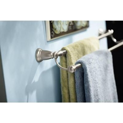 Gallery One Double Towel Bar in Spot Resist Brushed Nickel