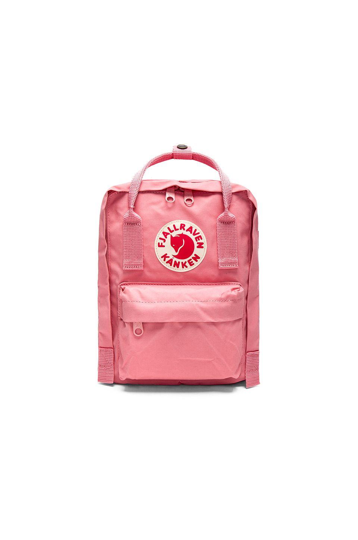 FJÄLLRÄVEN FJALLRAVEN KANKEN MINI IN PINK.. #fjällräven #bags #lining #backpacks #lace #