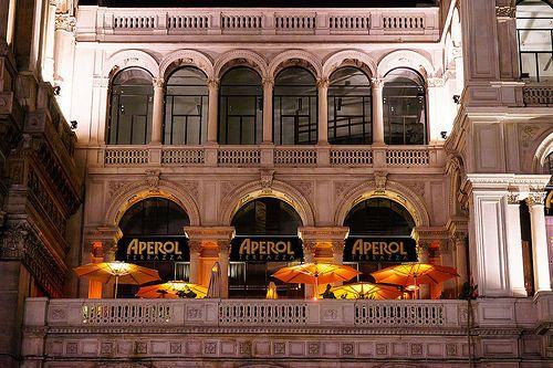 Aperol By Night Piazza Duomo Galleria Vittorio Emanuele