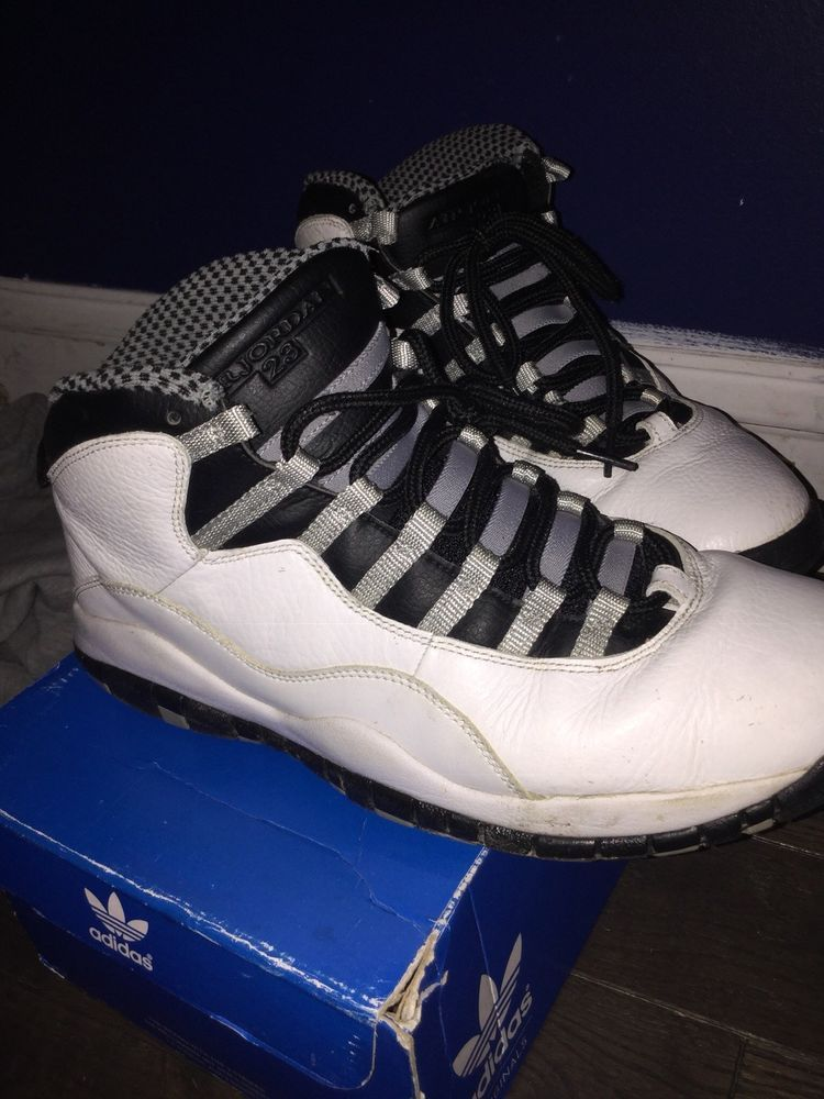 ced96e11441 air jordan 10 steel #fashion #clothing #shoes #accessories #mensshoes  #athleticshoes (ebay link)