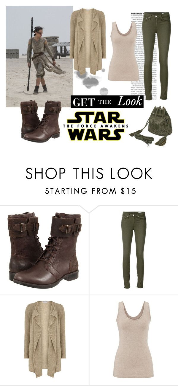 """""""Star Wars: The Force Awakens"""" by tffnyelshandy on Polyvore featuring UGG Australia, rag & bone/JEAN, Dorothy Perkins, maurices, starwars, contestentry and yoinscollection"""