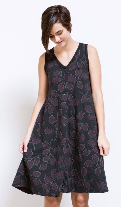 Alabama Chanin A-Line Dress