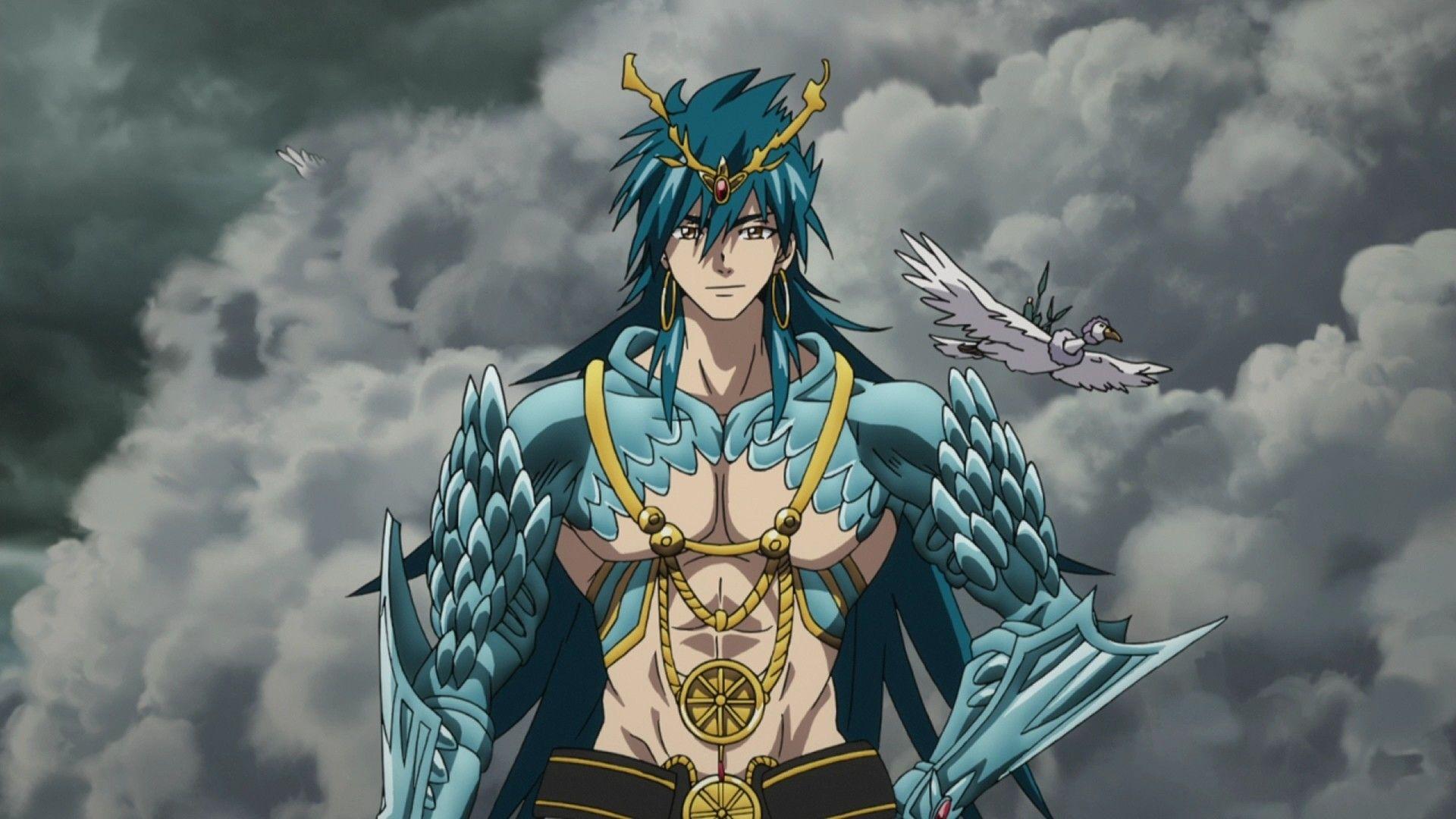 Pin by Montazerkun on Magi Sinbad magi, Anime magi