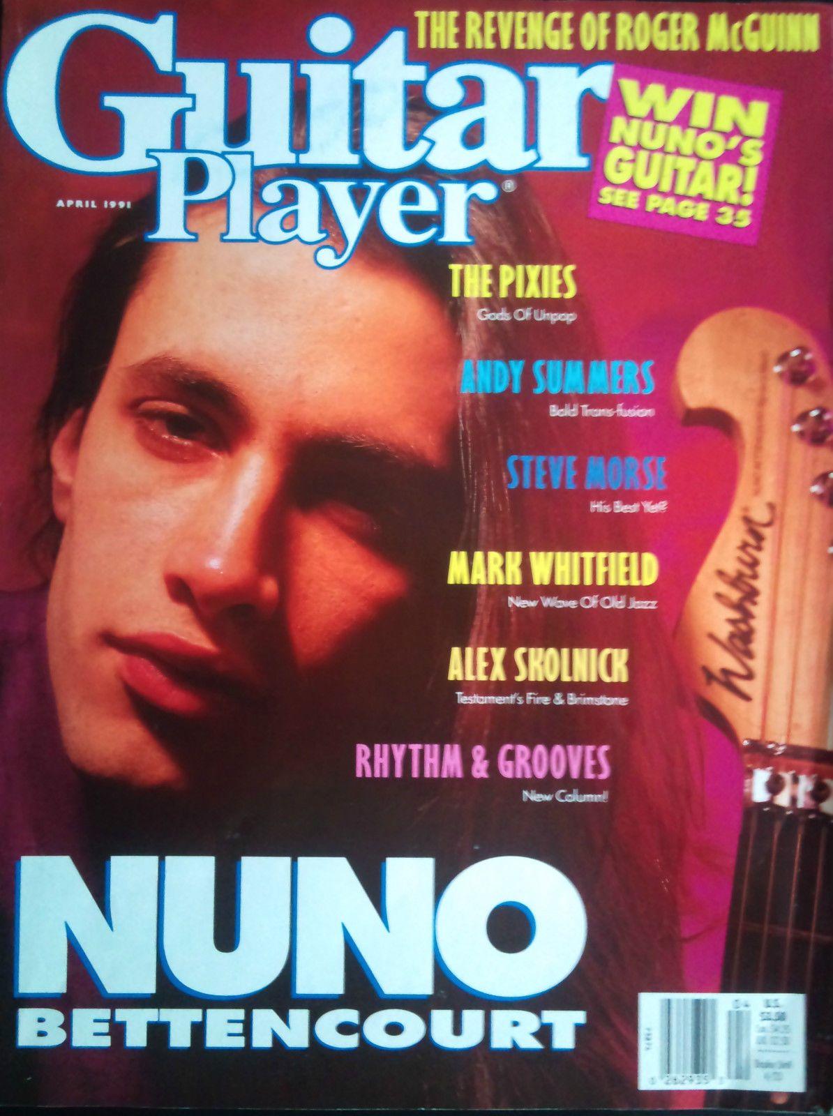 Nuno Bettencourt - Guitar Player April 1991