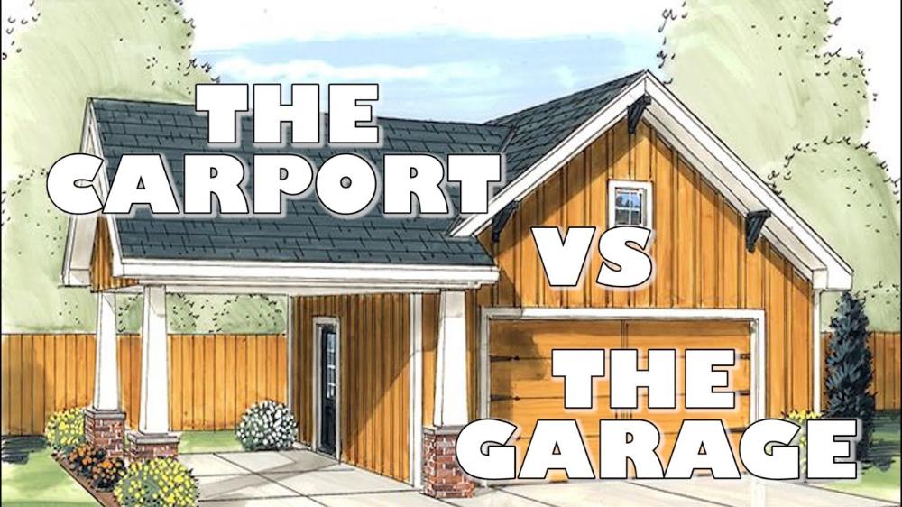 The Carport Vs The Garage (Video) in 2020 Carport