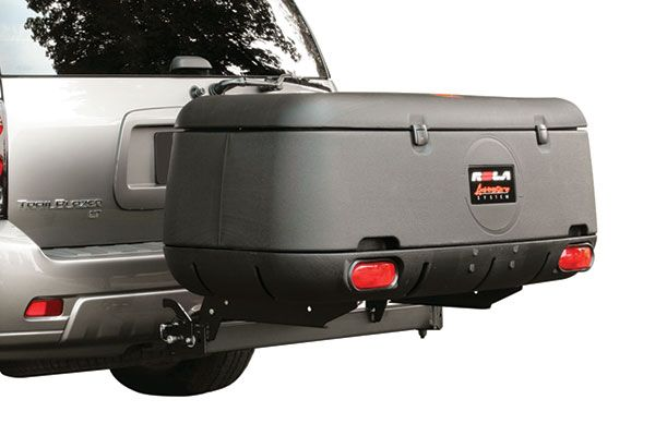 Trailer Hitch Luggage Rack Rola Adventure System Hitch Cargo Box  Fixed Tilt & Swing Away