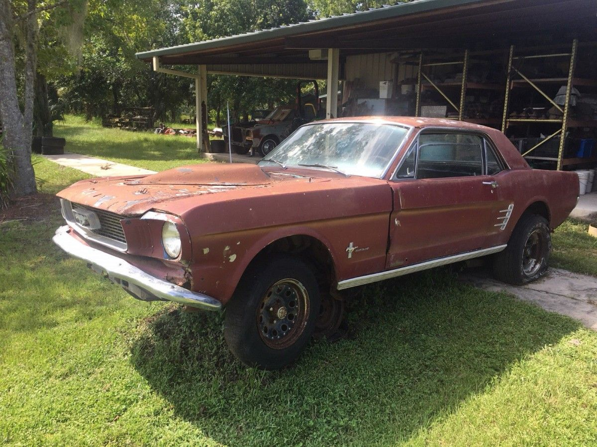 Cheap Pony 1966 Ford Mustang Project 1966 Ford Mustang Ford