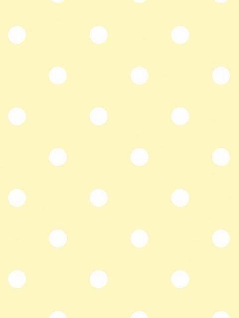 Kd1730 Yellow With White Dots Medium Dots Wallpaper Totalwallcovering Com Polka Dots Wallpaper Iphone Wallpaper Yellow Yellow Wallpaper