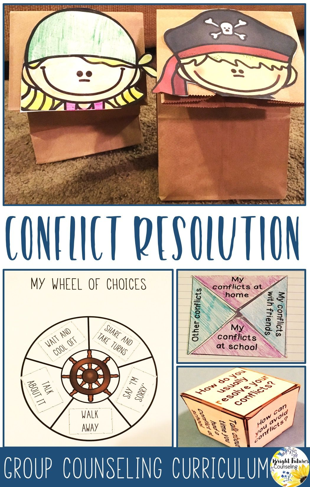 Conflict Resolution Counseling Group From Pirates To