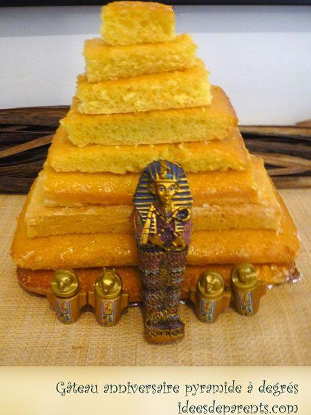 Gateau en forme de pyramide