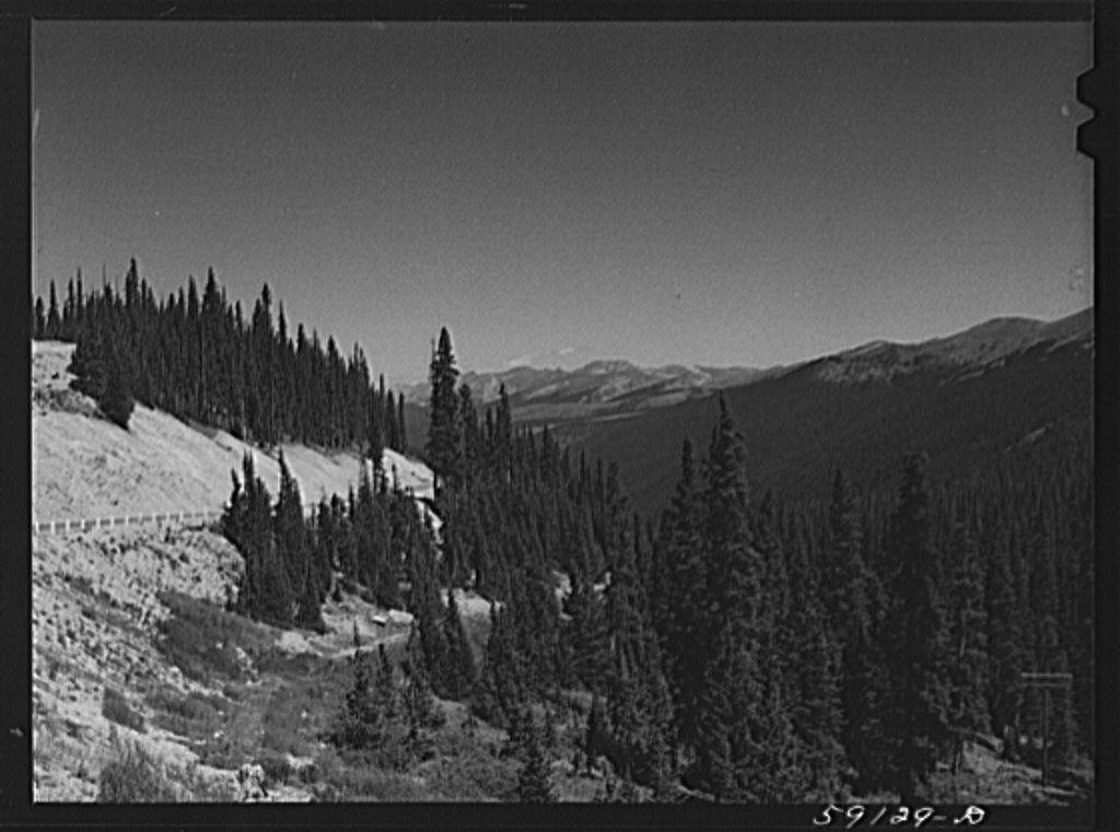 Rocky Mountains. Loveland Pass near Dillon, Colorado