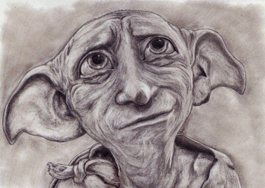 Dobby by Jumangeka.deviantart.com on @deviantART | Dessin ...