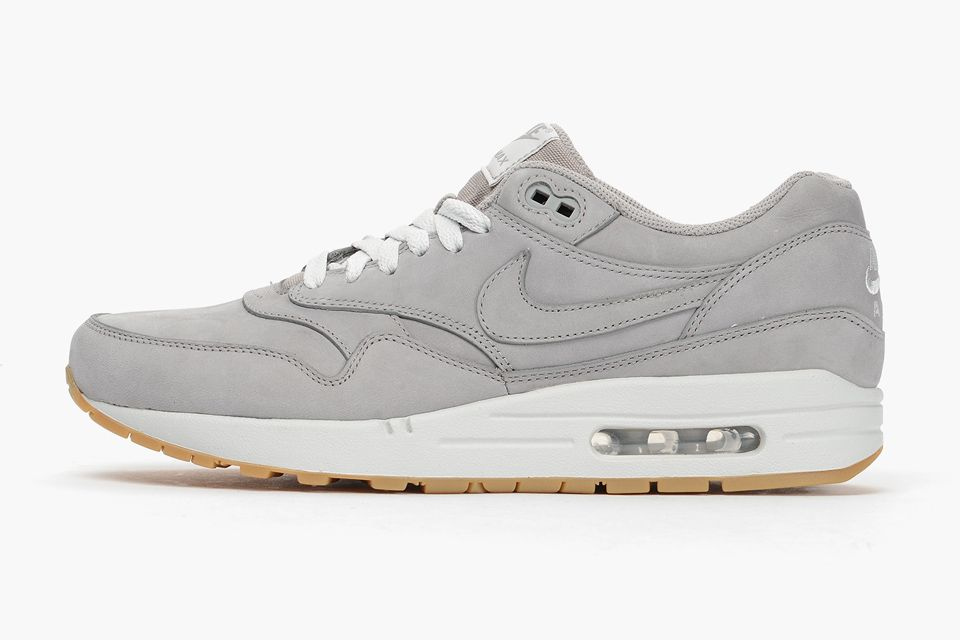 différemment e8ed1 14e03 Nike Air Max 1 and 90 PRM Grey Leather | Sneakers