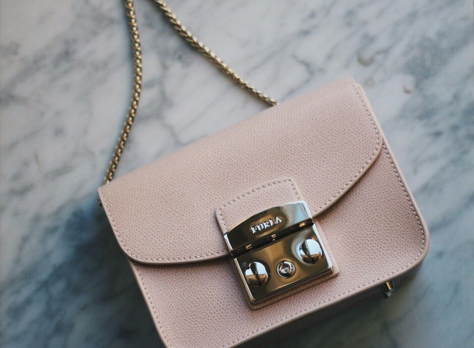 Furla Metropolis bag powder pink e1365be9f2428
