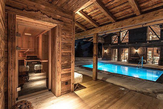 Luxury chalet austria schmiedalm hinterglemm szauna for Chalet haus bauen