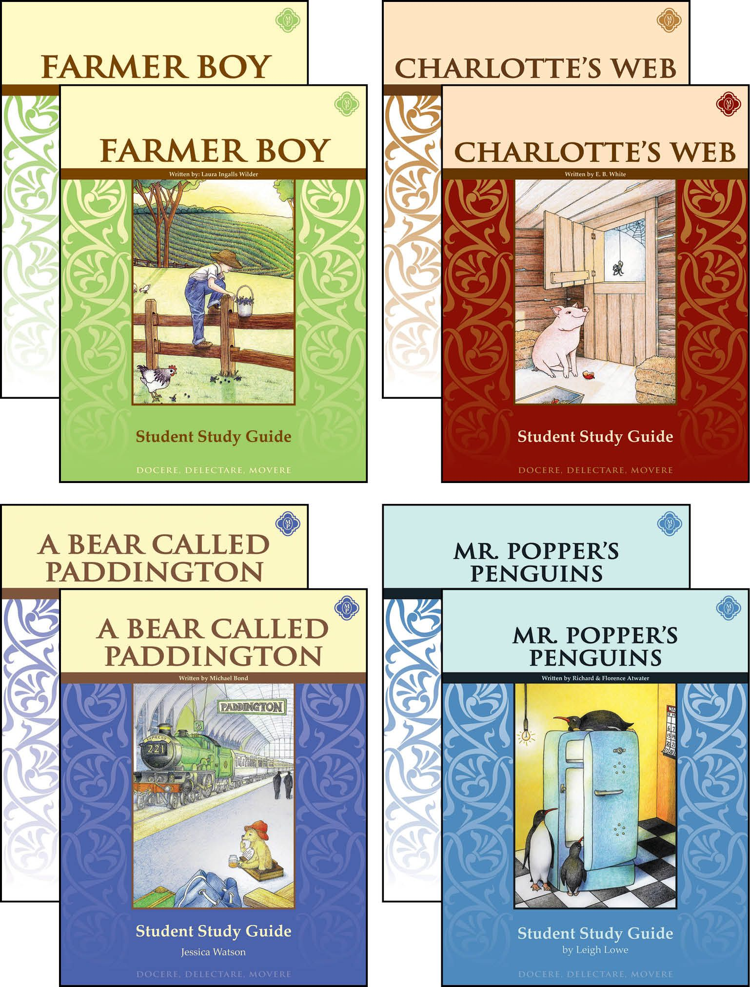 Third Grade Literature Guide Set With Novels