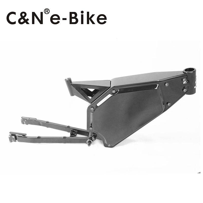 The newest design electric bike frame for 5000w electric bike motor ...