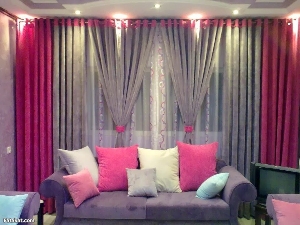 Home Decor Curtain Ideas Part - 25: Curtain. Awesome Curtains For Living Room Window: Enchanting .