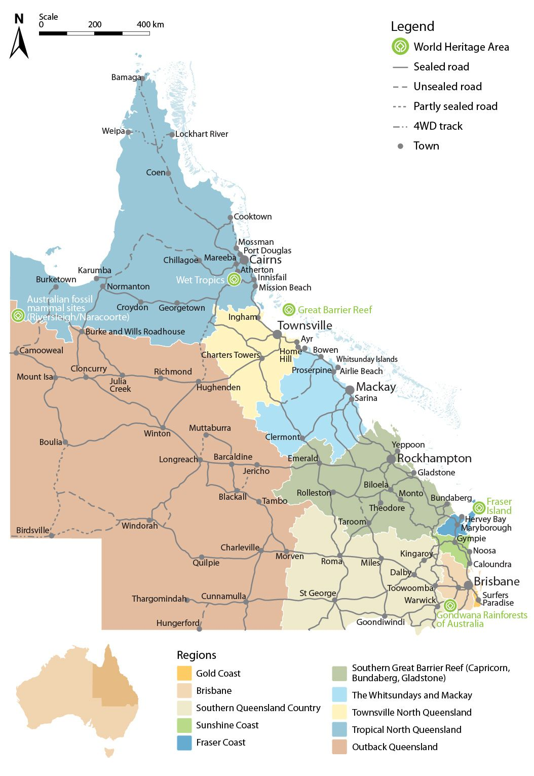 QLD Map | The Love of Maps | Pinterest | Australia and Park