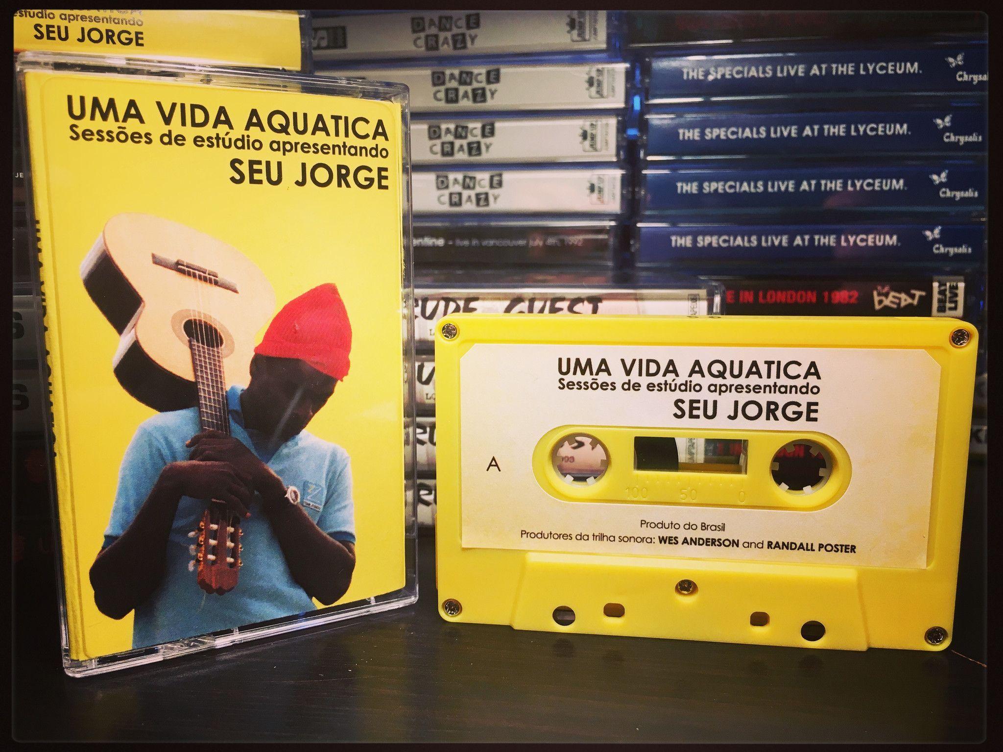 SEU JORGE - uma vida aquatica (the life aquatic) - CASSETTE TAPE soundtrack bowie (import)