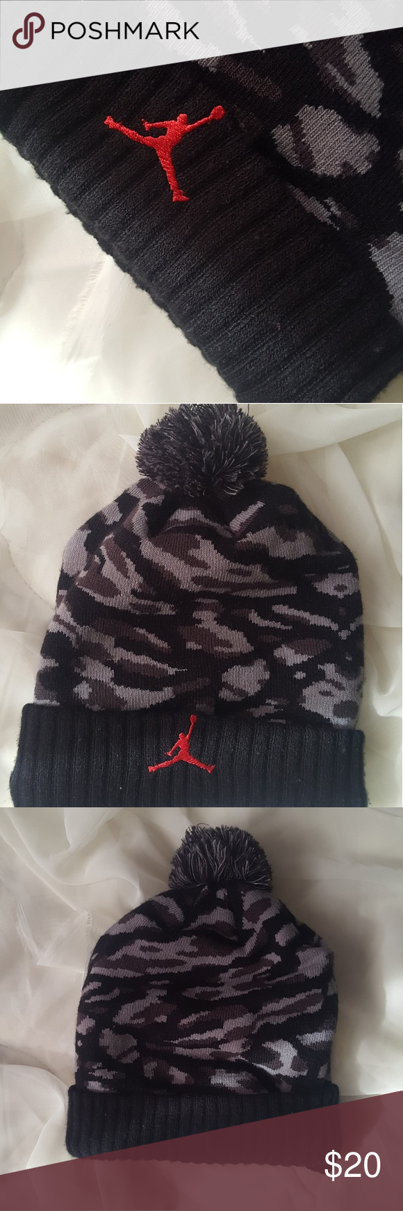 21bf63aef40 ... jordan hat like new jordan winter hat. only worn a couple of times in  excellent