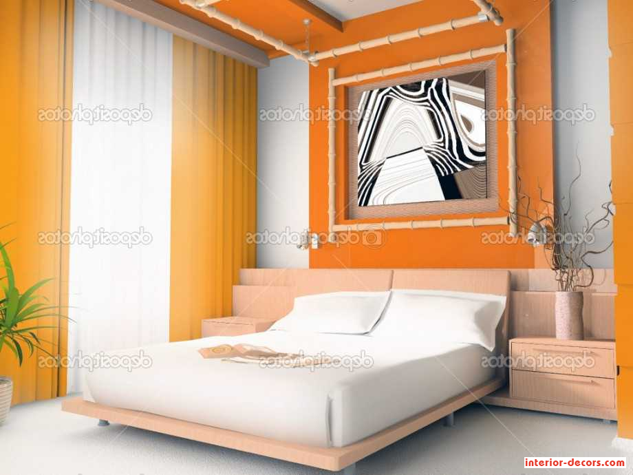 Fresh Orange Bedroom Style Idea X With Natty Program) has been ...