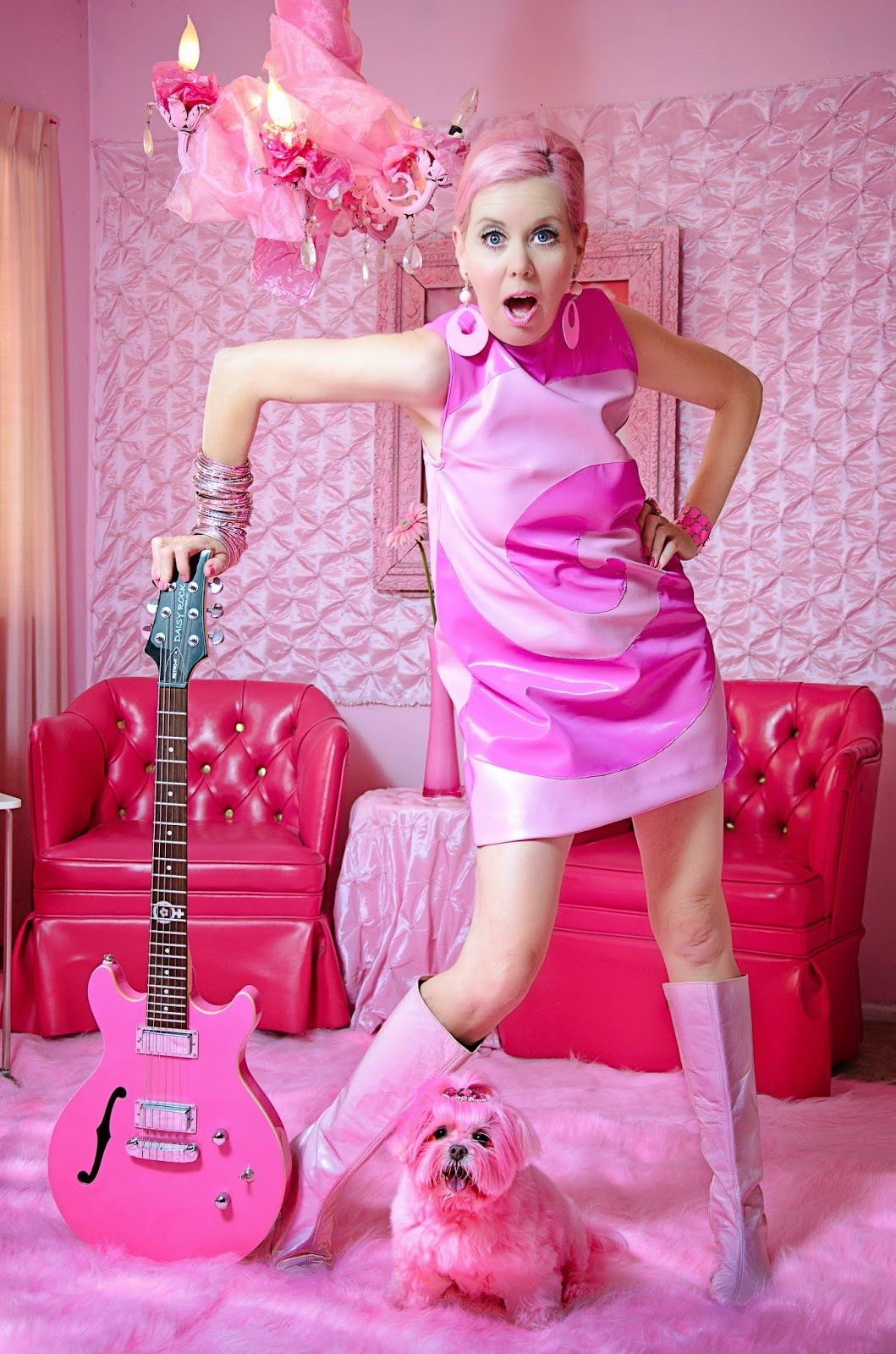 Love Pink Meet Kitten Sera The World S Official Pinkest Person Pink Ladies Pink Outfits Pink