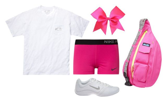 """Cheer Clinic Tomorrow"" by lizzielane33 ❤ liked on Polyvore"