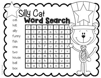 Word searches are a great way for students to pay
