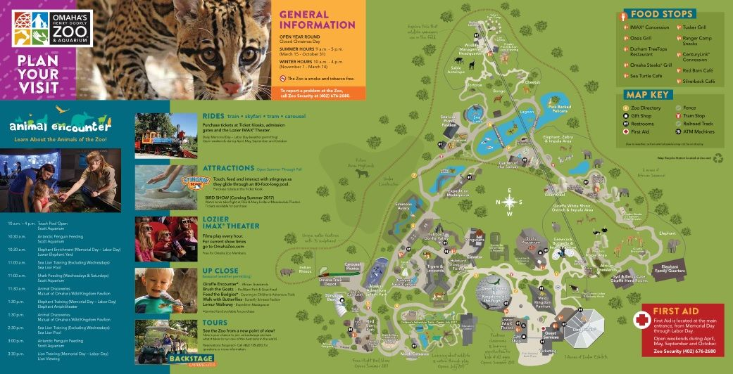Zoo Map | Omaha's Henry Doorly Zoo | Entertainment in Omaha | Visit Henry Doorly Zoo Map on kansas city zoo, dallas texas zoo, omaha zoo,