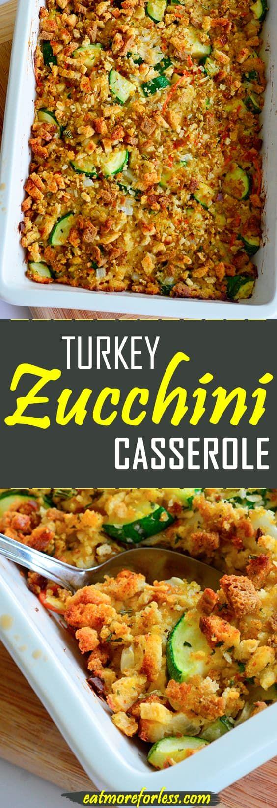 Photo of Turkey Zucchini Casserole