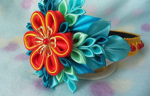 Diadema floral por AccessoriesShop4you en Etsy