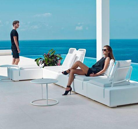 Looms Vondom Gartenmöbel Pforzheim - KES Lounge RR Monte Carlo - gartenmobel lounge rund