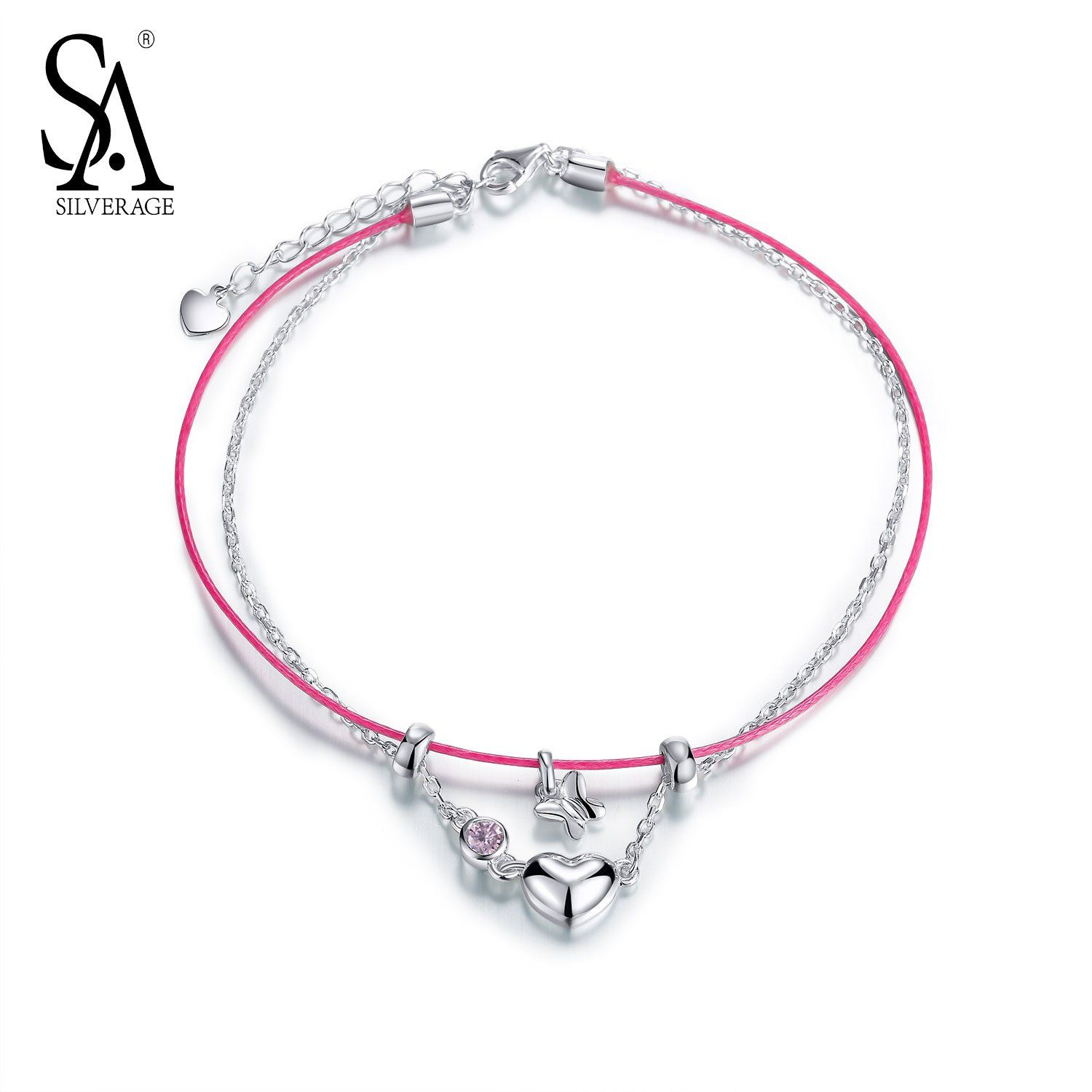real ankle pair anklet product anklets chain simple supply bracelet silver bracelets precious