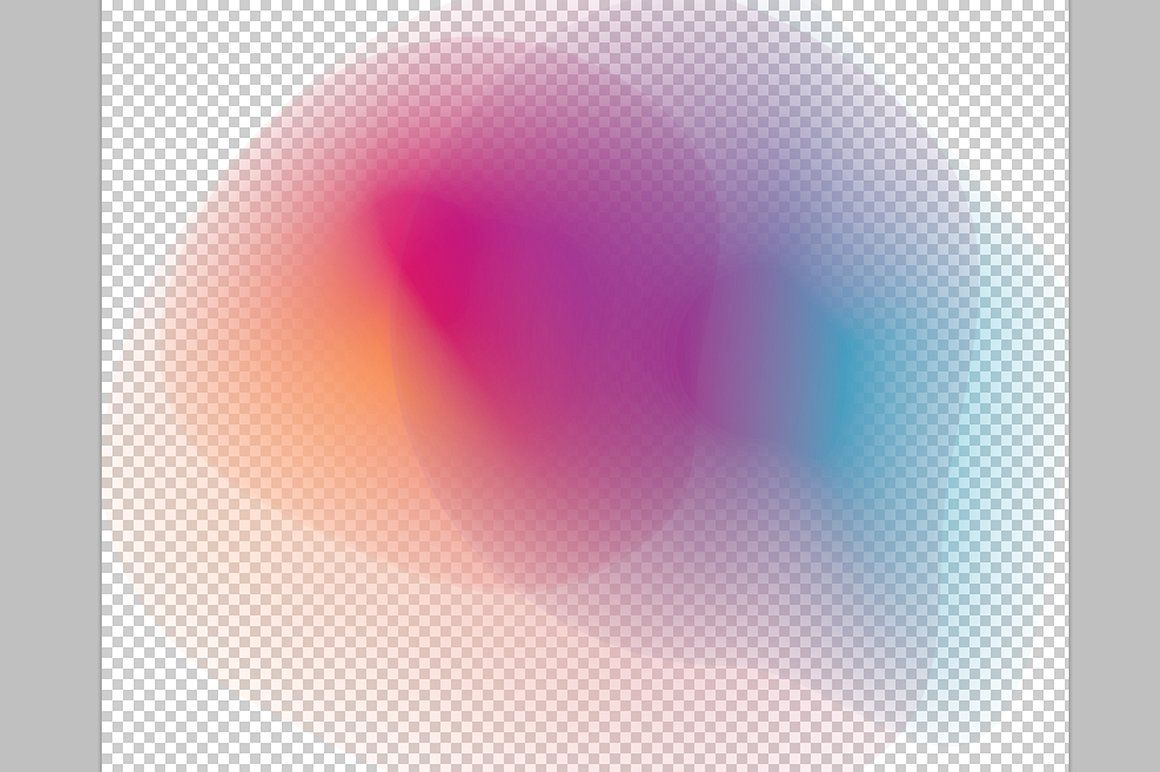 Gradient Energy  20 vibrant shapes   Learning graphic design ...