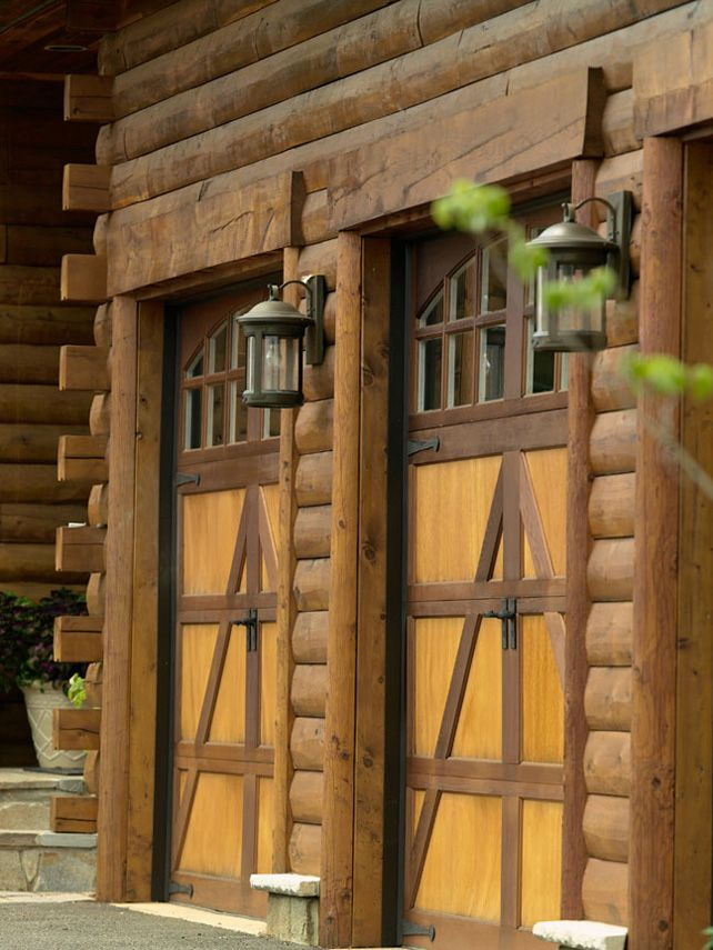 Log Cabin Living Carriage Doors For The Garage