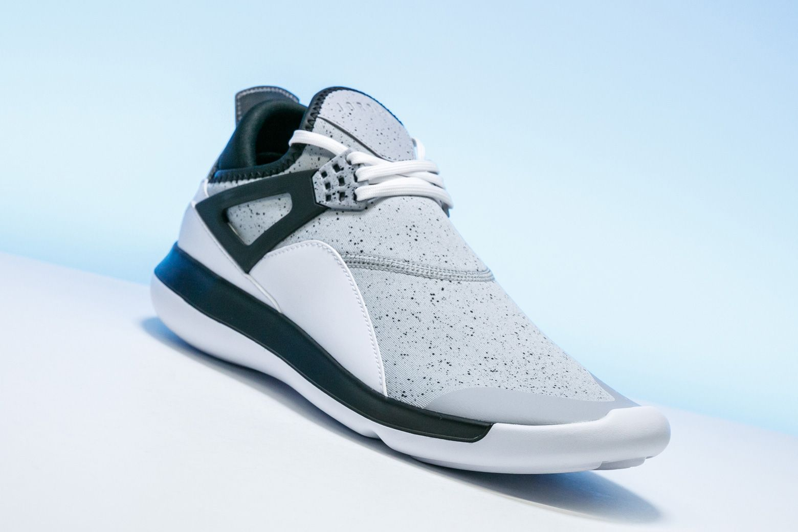 4086ba2ed370eb The Jordan Fly  89 remixes the classic Air Jordan 4 into a lightweight  silhouette with a Lunarlon sole.
