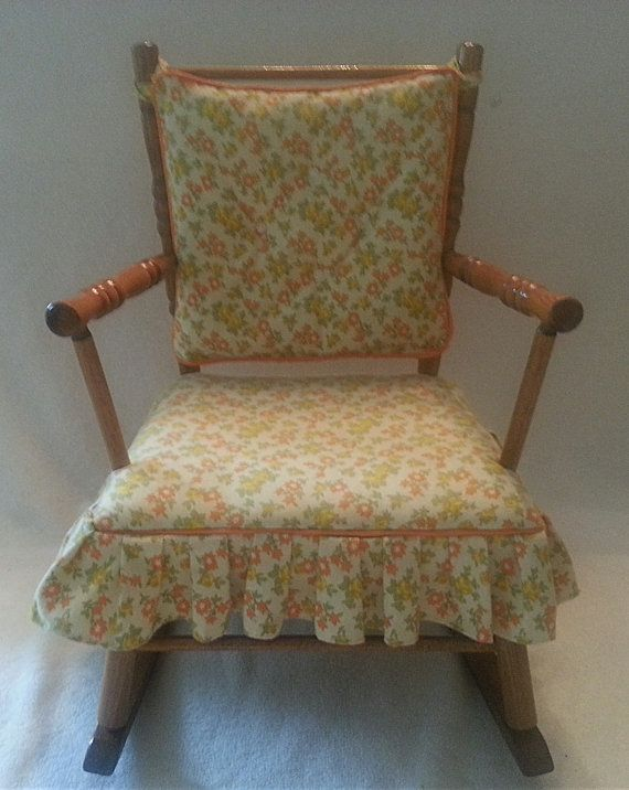 Kids Upholstered Rocking Chair