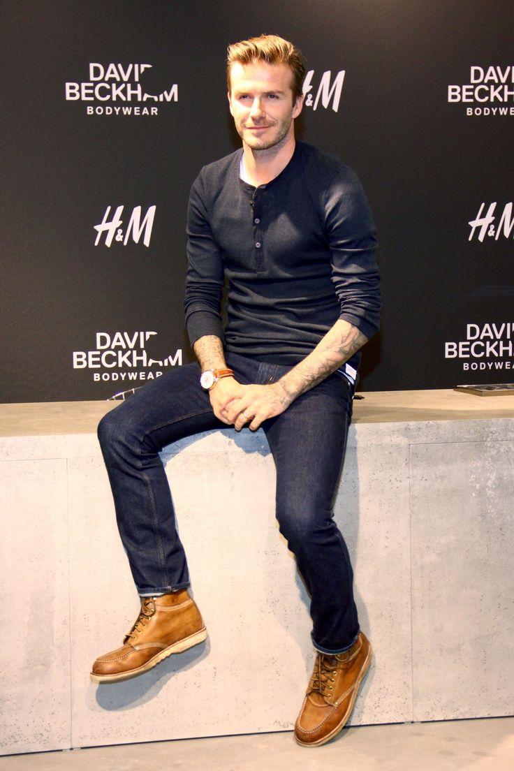 David Beckham Street Style 2013