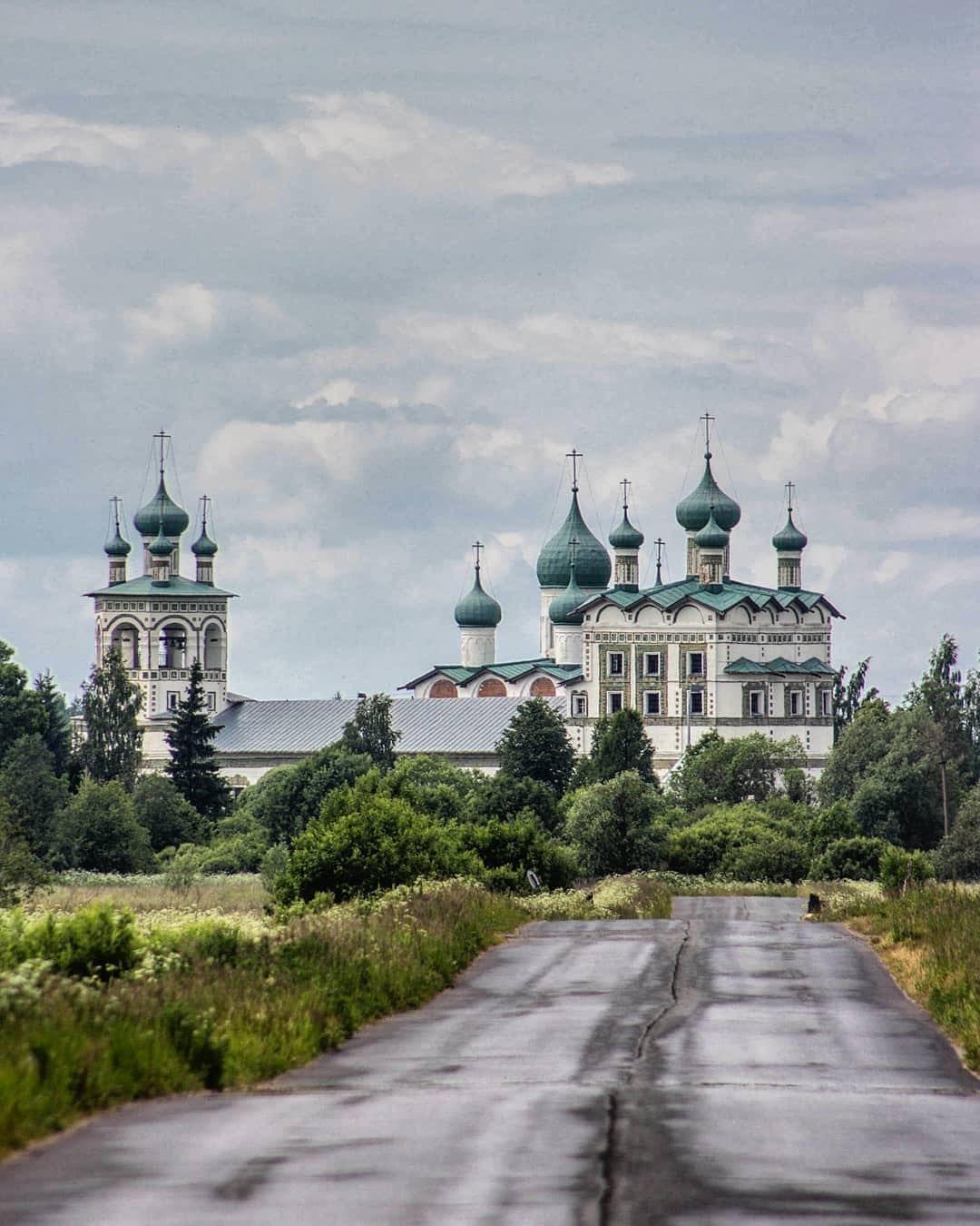 Николо-Вяжищский монастырь ⠀ ⠀⠀⠀⠀ ⠀ ⠀