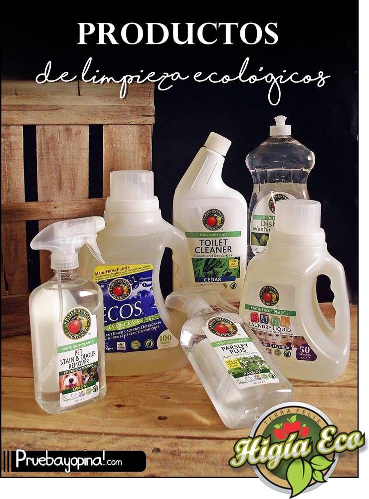 Productos De Limpieza Ecologicos Higiaeco Con Imagenes