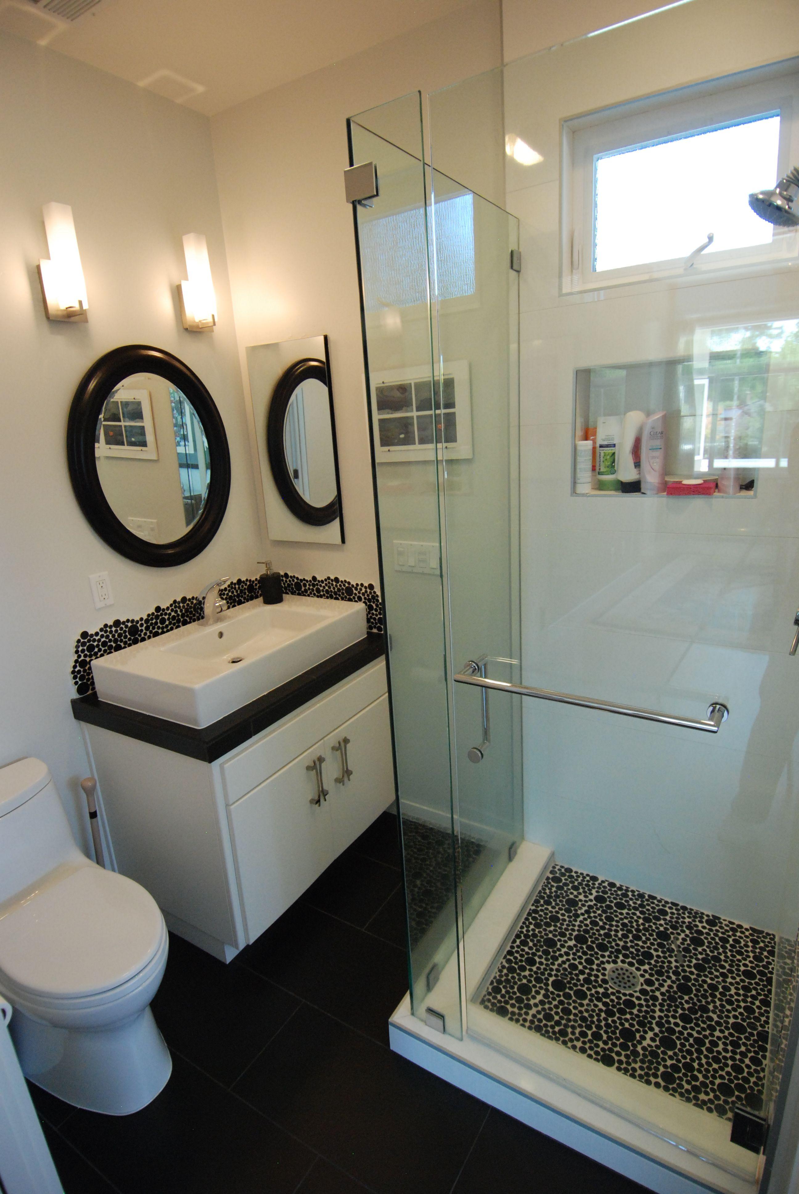 Guest bath design by M Designs Architects