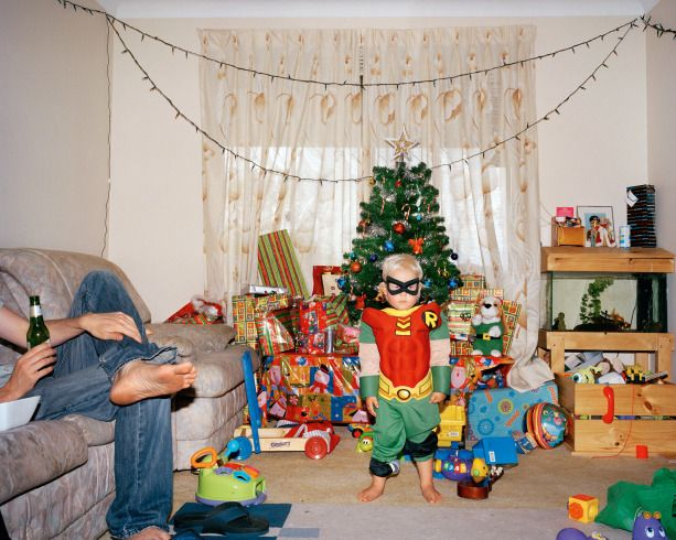 A Summertime Christmas Down Under: Trent Parke's Family Photo Album - photographed between 2004 – 2009 in Australia.